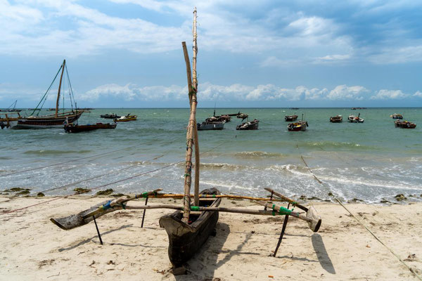 Dhow-Boot in Bagamoyo