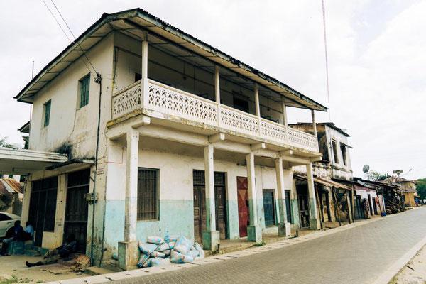 Historisches Stadtbild in Bagamoyo