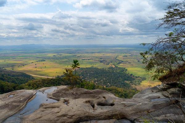 Ausblick Sanje Falls