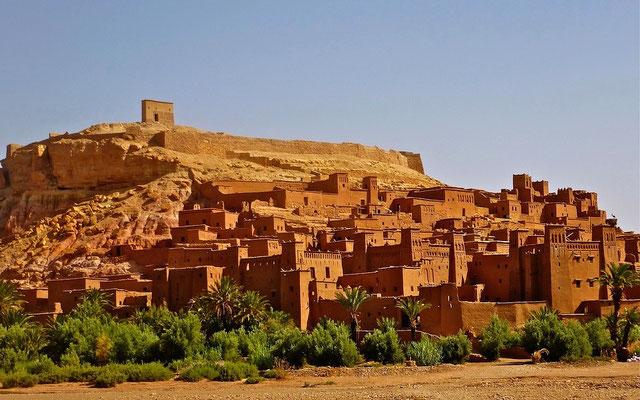 Ait Ben Haddou Marokko Privatreise