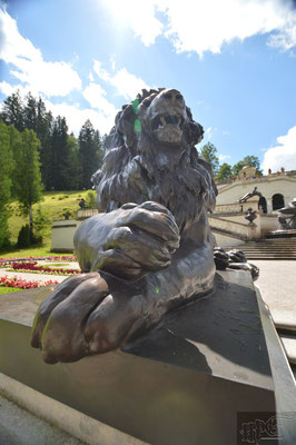 Schloss Linderhof in Bayern