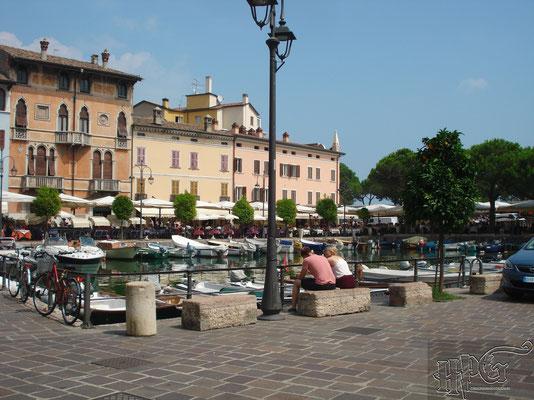 """der """"Alte Hafen"""" von Desenzano"""
