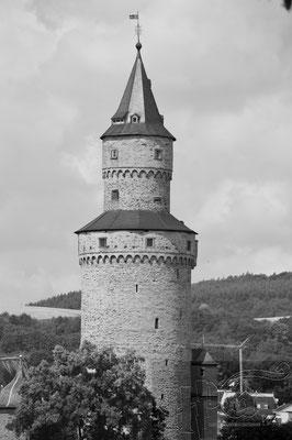 """Das Wahrzeichen von Idstein der """"Hexenturm"""""""