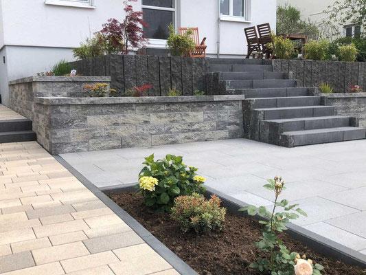 Gartenpflege Franke - Ihr Landschaftsgaertner für Neugestaltung Garten in Nidda, Hungen, Lich, Buedingen, Butzbach, Altenstadt, Bad Vilbel und Wölfersheim