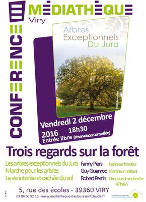 Conférence sur la forêt jurassienne