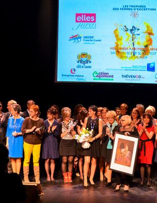 Trophées de femmes d'exception du JURA - Octobre 2016