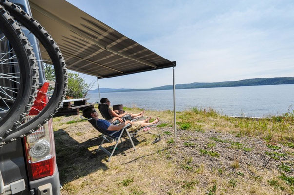 Francois Lake bei der Ortschaft Burns Lake