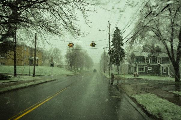 Schneeee - wir sind mit Sommerpneu's unterwegs....