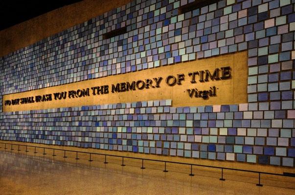 Das sehr eindrückliche und traurige 9/11-Museum