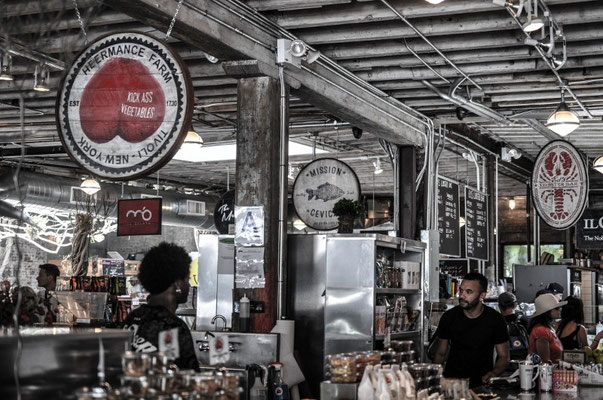 Meatpacking District mit feiner Foodhalle