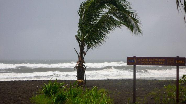 Stürmische Beach