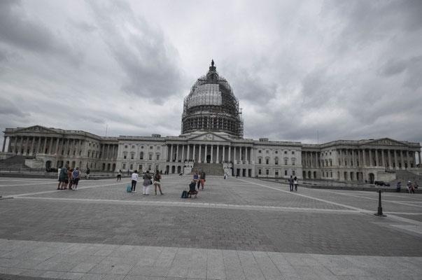 Eingerüstetes Capitol