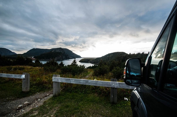 Bottle Cove, nach Corner Brook