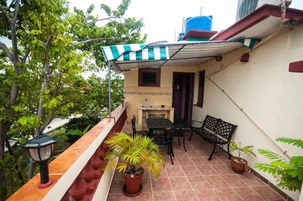 Unsere Terrasse in Varadero