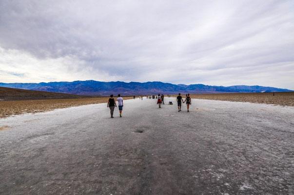 Bad Water - der tiefste Punkt der USA