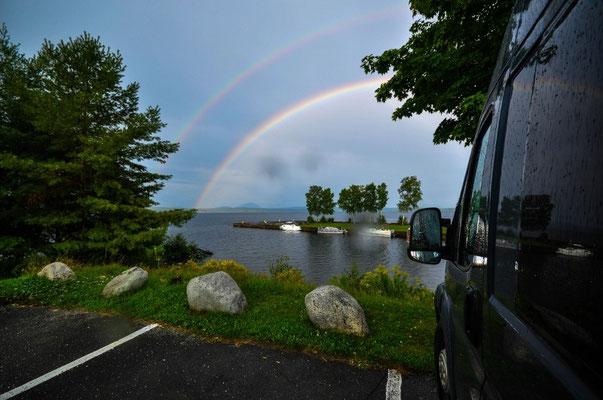 Parkplatz Moosehead Lake, Rockwood