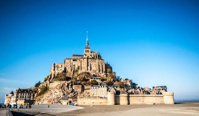 Mont-Saint-Michel, F