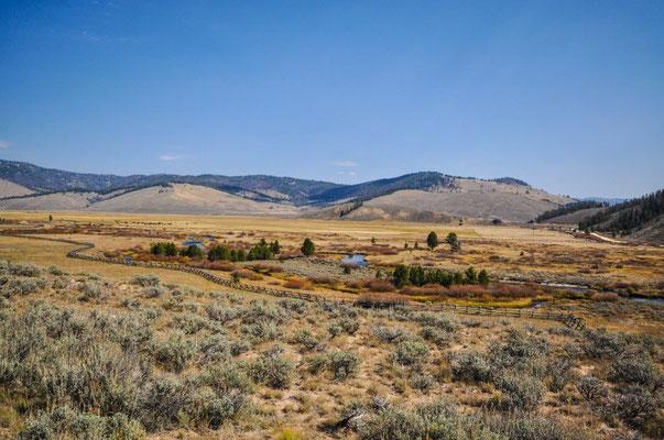 Fahrt durch Idaho