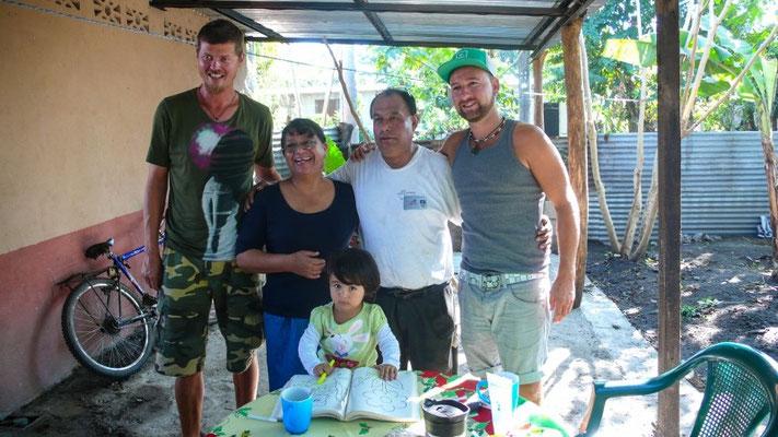 In der Mission von Anna's Eltern in La Gomera, Guatemala