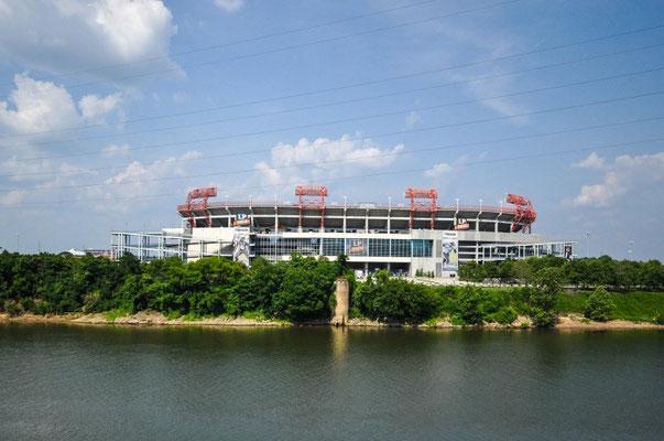 Das Football-Stadion von Nashville