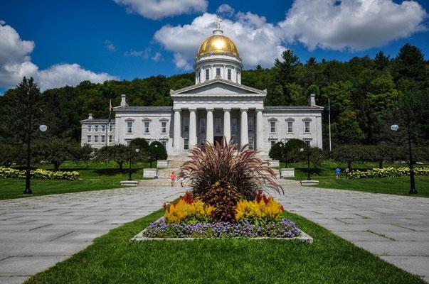 State House von Vermont in Montpelier