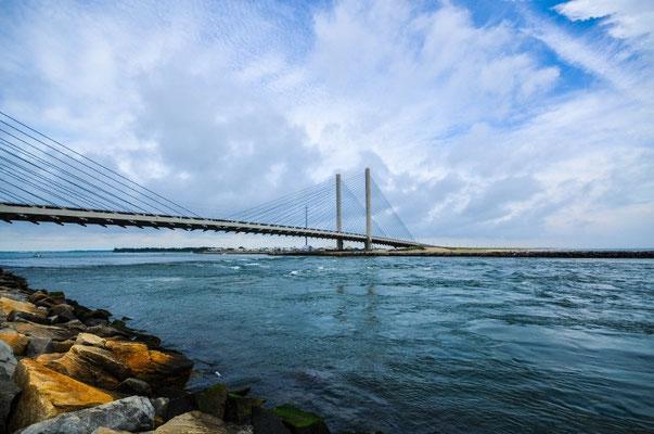Brücke über den Indian River