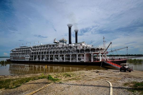 Ein Mississippidampfer