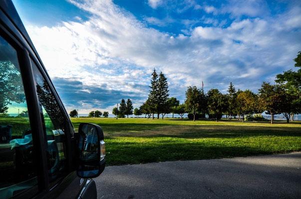 Parkplatz, Oswego