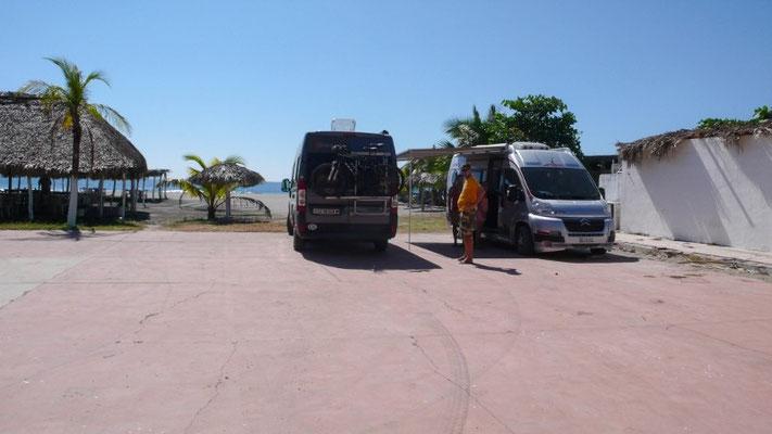 Übernachtungsplatz beim Hotel Safari