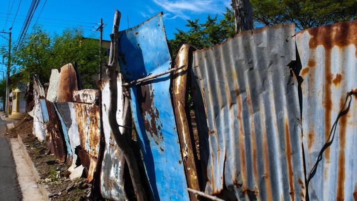 """""""Mauer"""" auf salvadorianisch"""
