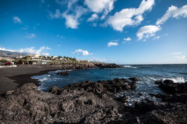 Playa La Jaquita, Alcala, Teneriffa