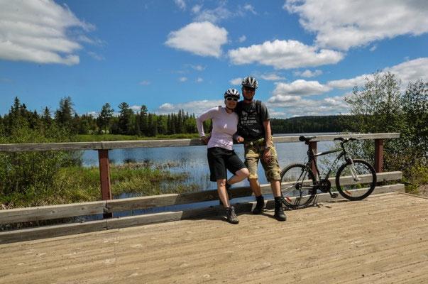 Biken mit Wanderschuhen