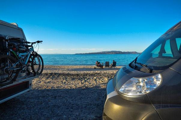 Playa Tecolote, nach Pichilingue