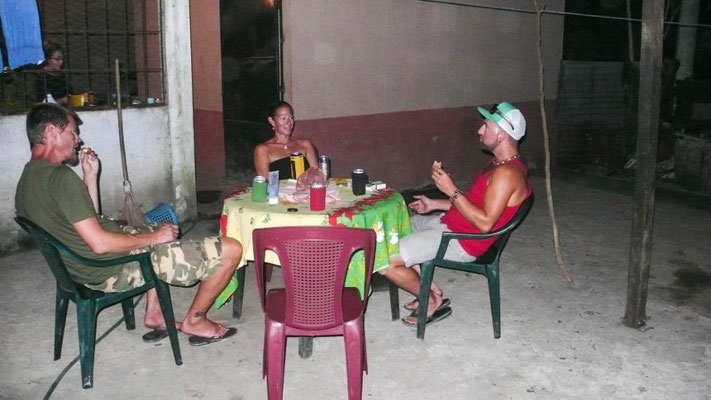 ...und dann in La Gomera beim Nachtessen