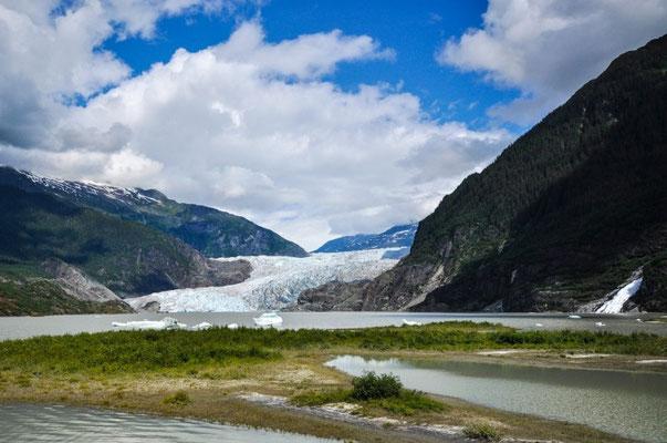Mendenhall-Glacier in Juneau