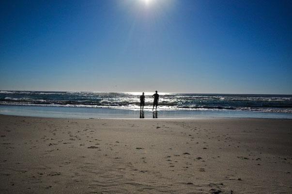 Nehalam Beach, hier noch ohne Nebel