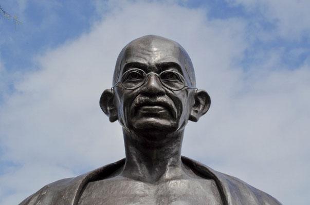 Ausdruckstarker Mister Gandhi