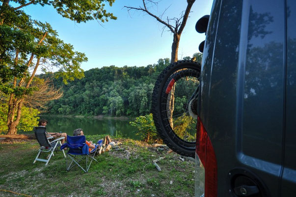 Horseshoe Bend Campground, Rock Island