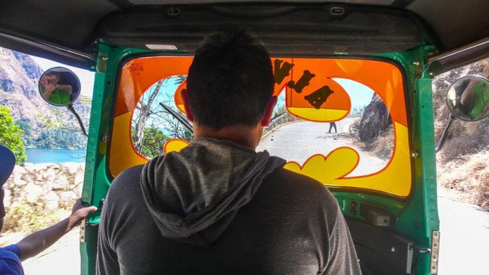 Finally im Tuktuk