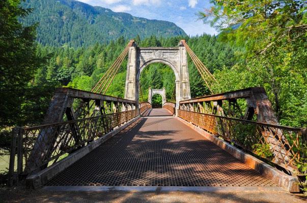 Alexandra Bridge am Fraser River
