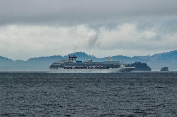...oder ein Kreuzfahrtschiff