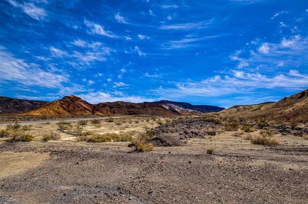 Angekommen im Death Valley