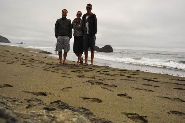 Beim Whalehead an der Küste Oregons