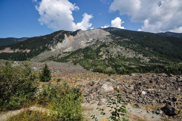 """Hope Slide: 1965 ist nach einem Erdbeben der """"halbe"""" Berg zusammengestürzt"""