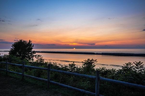 Sonnenuntergang in Oswego