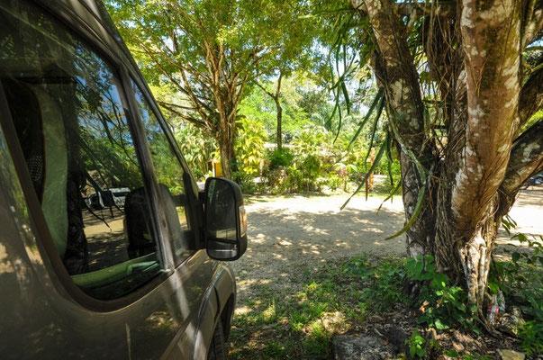 Camping Mayabell, Parque Nacional Palenque