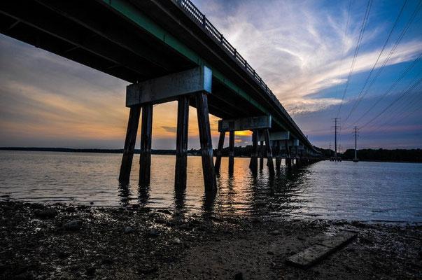 Brücke nach Cousins Island