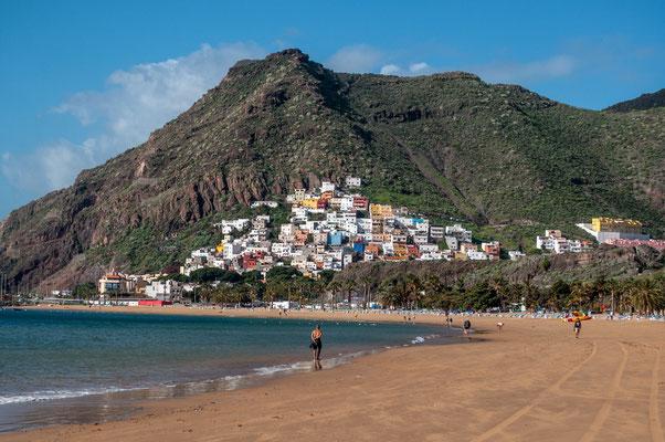 Letzte Tage in San Andres, Playa Las Teresitas, Teneriffa
