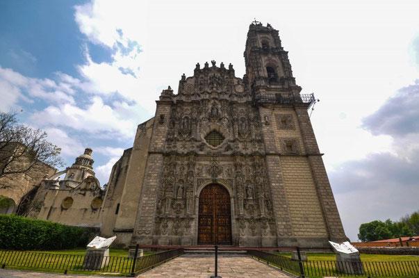 Iglesia San Francisco Javier aussen