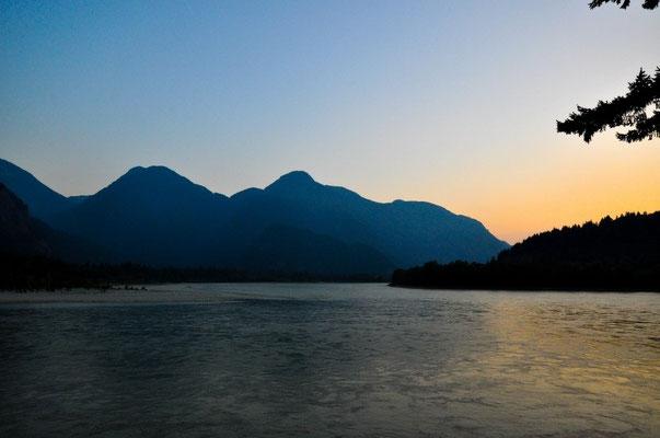 Schöne Stimmung am Fraser River in Hope